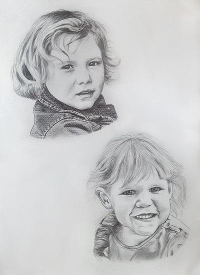 Paarportrait | Doppelportrait zweier geschwister