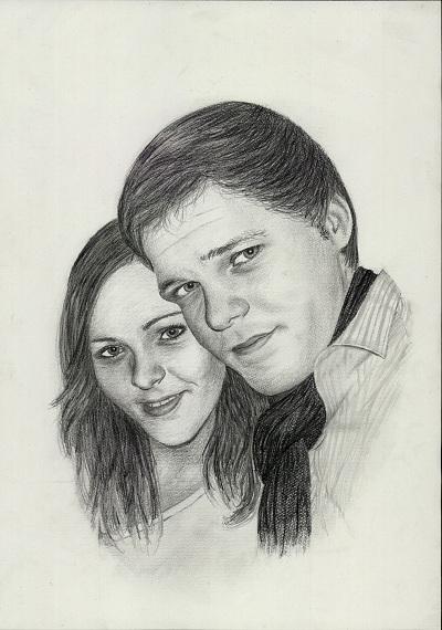 Doppelportrait | Paarportrait der Portraitkünstler
