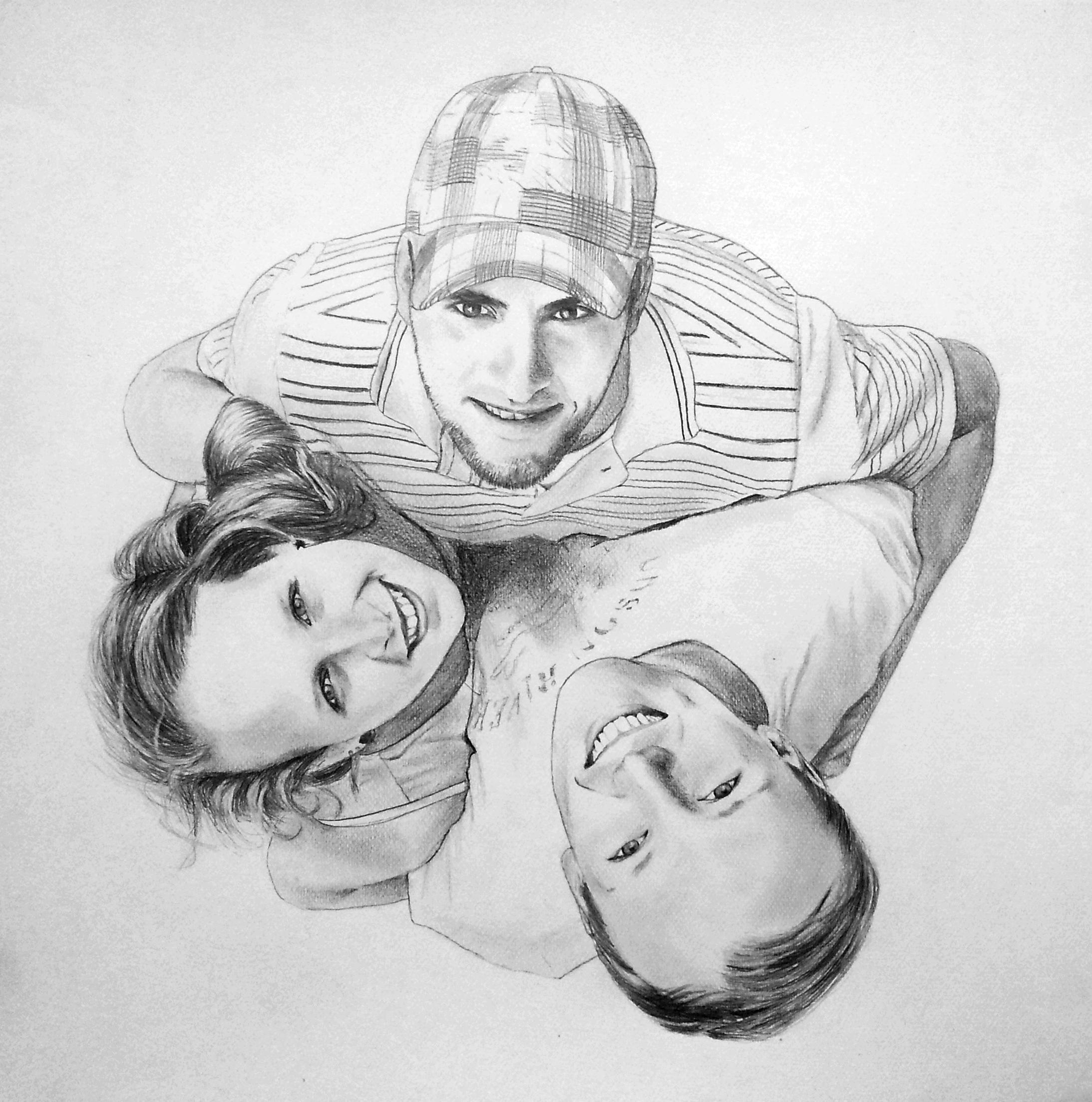 Doppelportrait | Gruppenportrait im Auftrag