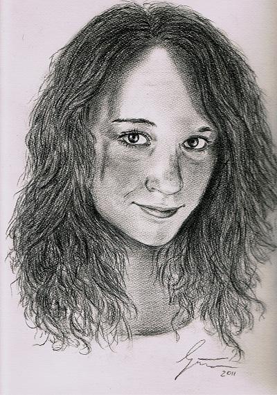 """Portrait vom Foto - """"Kimi"""""""