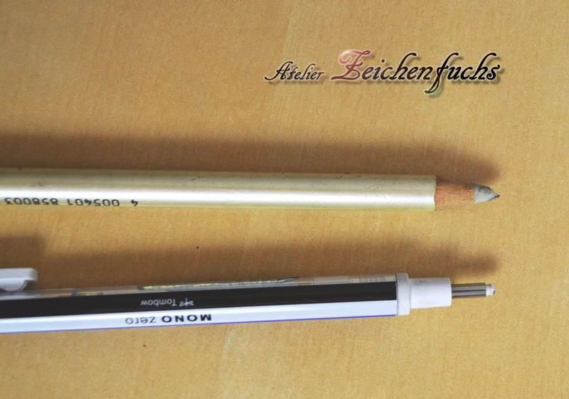 Radierer und Radierstifte